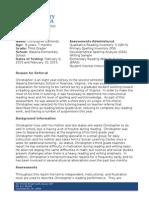 rawlins final report on letterhead