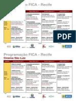 Programação Sao Luiz - Fica