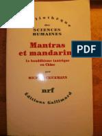 Mantras Et Mandarins Le Bouddhisme Tantrique en Chine - Michael Strickman[1]