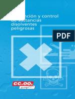 Sustancias disolventes peligrosas