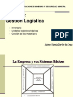 Cap.8 Gestion Logistica