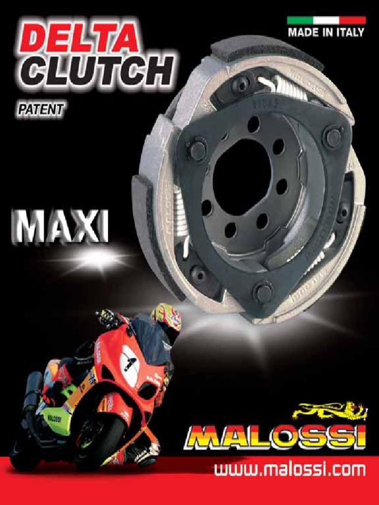 172MM Kupplung MALOSSI Maxi Delta Clutch WT MOTORS MIAMI 250 4T LC
