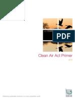 Clean Air Act primer