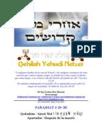 Parashat Ajarei-Qadoshím # 29, 30 Adul 6015.pdf