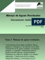 Manejo Aguas Residuales alumnos 2013