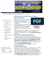 Dream Divers February 2010 Dive Club Newsletter