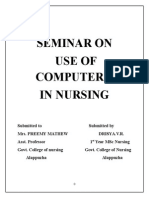 SEMINAR on Use of Computers