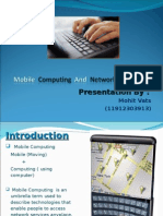 Mobile Computing & Networking (119)