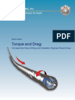Torque and Drag