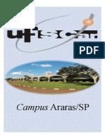 UFSCar Campus Araras SP Português