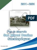 Plan de desarrollo San Miguel Dueñas Sacatepéquez