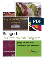 Sungudi Workshop