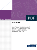 Aimb-280 User Manual Ed-1 Final