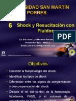 Resucitacion y Manejo de Shock