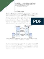 Manual de Instalacion Servicio Ftp