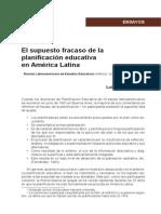 El supuesto fracaso de la planificación educativa en América Latina.pdf