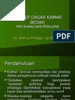 Konsep Dasar Kamar Bedah - Dr. Benny Philiphi11