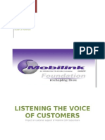 Voices of Customers