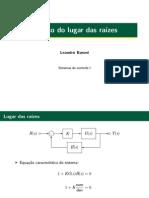 Laboratório 3 - Sistemas de Controle I - UFABC