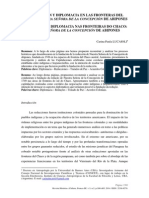 NEGOCIACIÓN Y DIPLOMACIA EN LAS FRONTERAS DEL CHACO