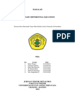 Anum 7 - Ordinary Differential Equations