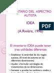 IDEA Inventario Del Aspectro Autista21