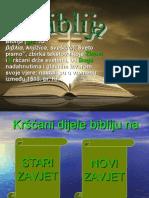 Biblija Prezentacija