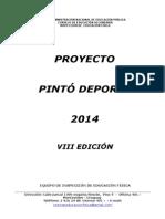 Avance de Reglamento Pintó Deporte 2014