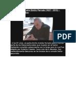 In Memoriam Padre Emilio Parrado - Augusto TorchSon