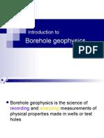 Day 1 Borehole Geophysics W