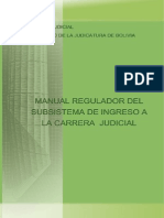 Manual de Ingreso a la Carrera Judicial
