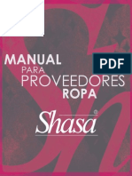 Manual Para Prov-Shasa Ropa