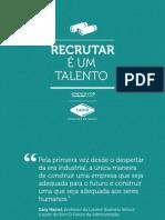 Como Recrutar e Um Talento
