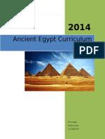 ancient egypt curriculum unit