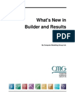 What's New in Builder and Results 2012