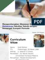 Materi Kuliah Umum FT-UTM_28.10.14