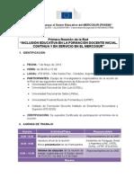 Agenda 1ra Reunión de La Red Inclusión (1)