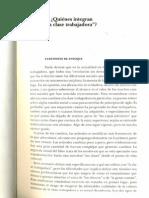 Hoggart, Richard. La Cultura Obrera en La Sociedad de Masas. Cap. 1 y 3