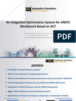 Integrated Optimization System Fedesign