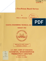1981 - Fast, Accurate Two-Person Beach Surveys - Birkemeier