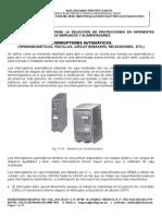 1  PROTECCIONES EN DIFERENTES CARGAS PARA LOS CIRCUITOR DERIVADOS Y ALIMENTADORES..doc