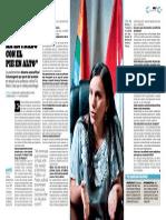 Entrevista Verónika Mendoza - Revista Somos