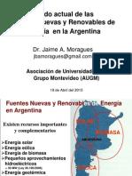 Fuentes Renovables de Energía en La Argentina