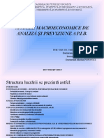 Modele Macroeconomice Pib