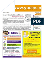 YOCee Newsletter Dec 09