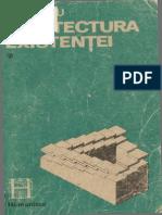 Ilie Pârvu-Arhitectura existenței vol. I Paradigma structural-generativă în ontologie. I-Humanitas (1990)