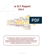 The ILT Report 2013