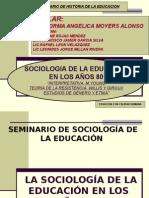 1.-Sociologia de La Ed.-80 - Exposicion