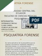 Trabajo de Psiquiatria Forense 2014