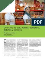 Consumo de Pan, Bollería, Pastelería, Galletas y Cereales